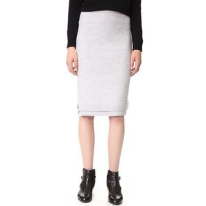 Club Monaco Nireen Wool Skirt